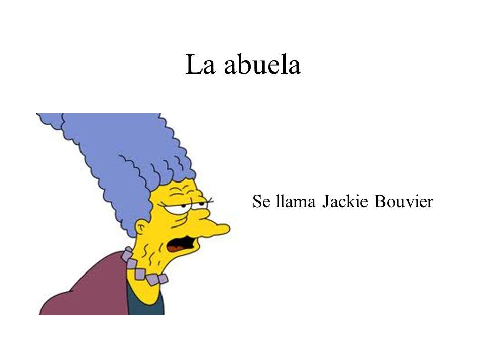 La abuela Se llama Jackie Bouvier