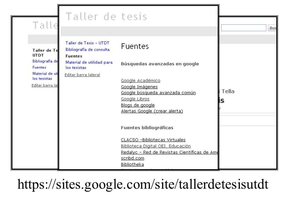 https://sites.google.com/site/tallerdetesisutdt