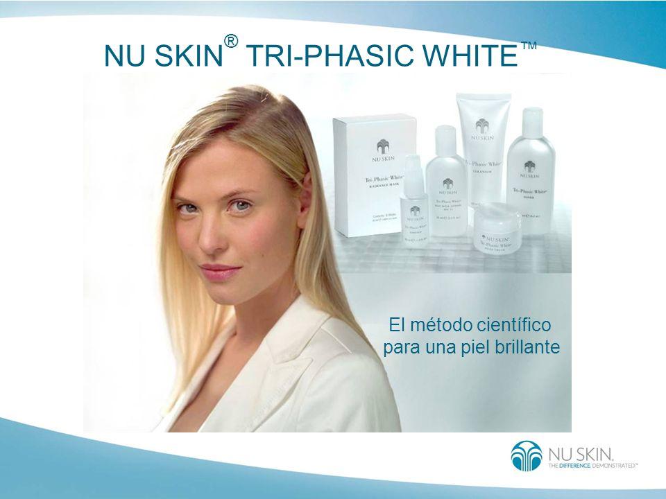 NU SKIN ® TRI-PHASIC WHITE El método científico para una piel brillante