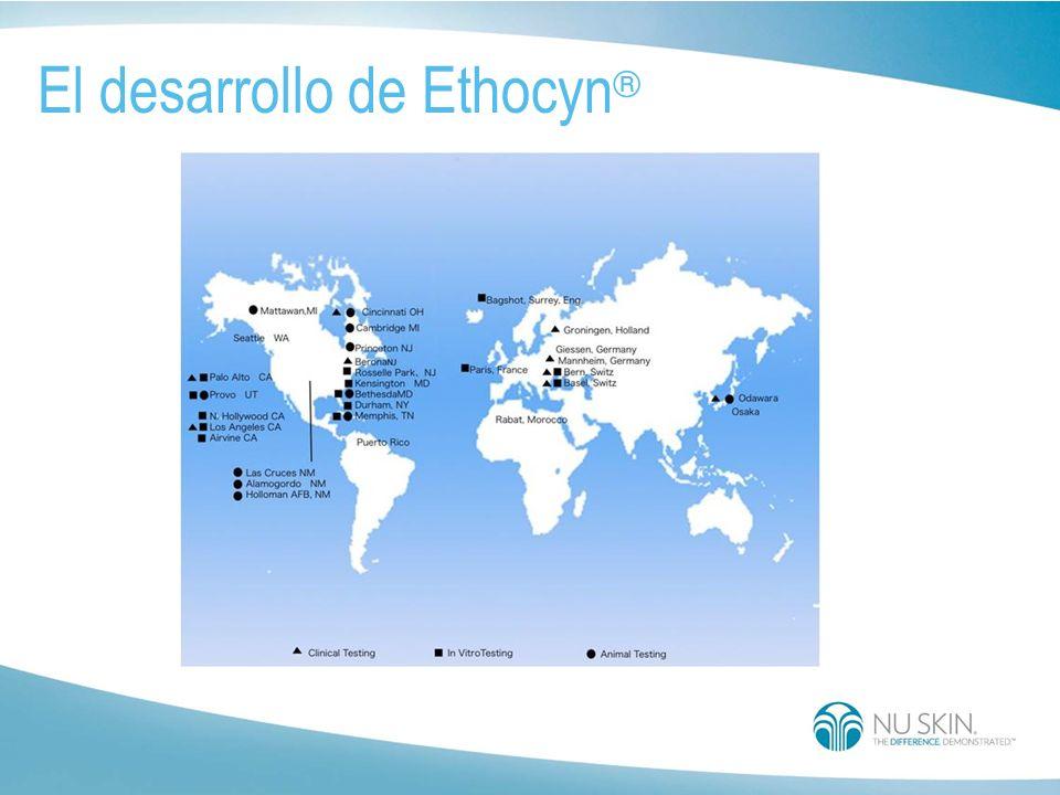Su pequeño peso molecular facilita la penetración del estrato córneo para llegar al lugar deseado. Ethocyn ®