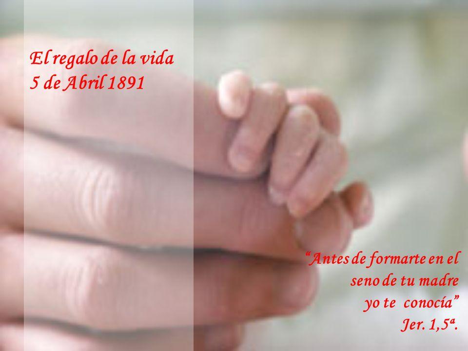 UN REGALO DE LA VIDA UNA VIDA ABIERTA AL ESPÍRITU UN DON PARA OTROS POR AMOR Y PARA EL AMOR UNA HISTORIA DE AMOR