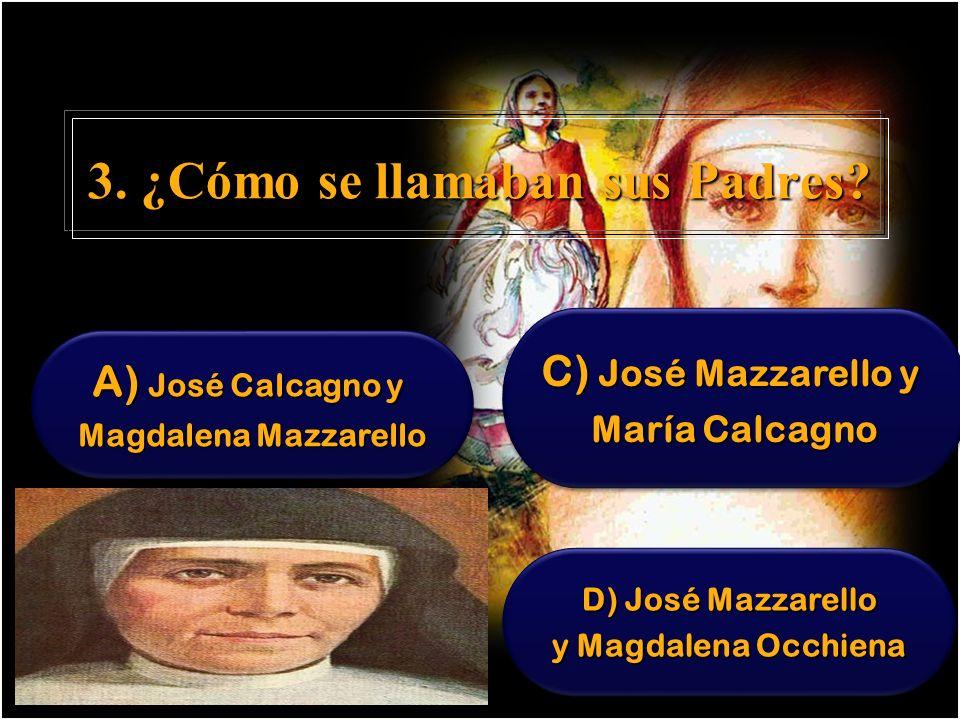 23.¿ Qué sucede el 5 de Agosto de 1872. A)Nace el Instituto de las Hijas de la Inmaculada.