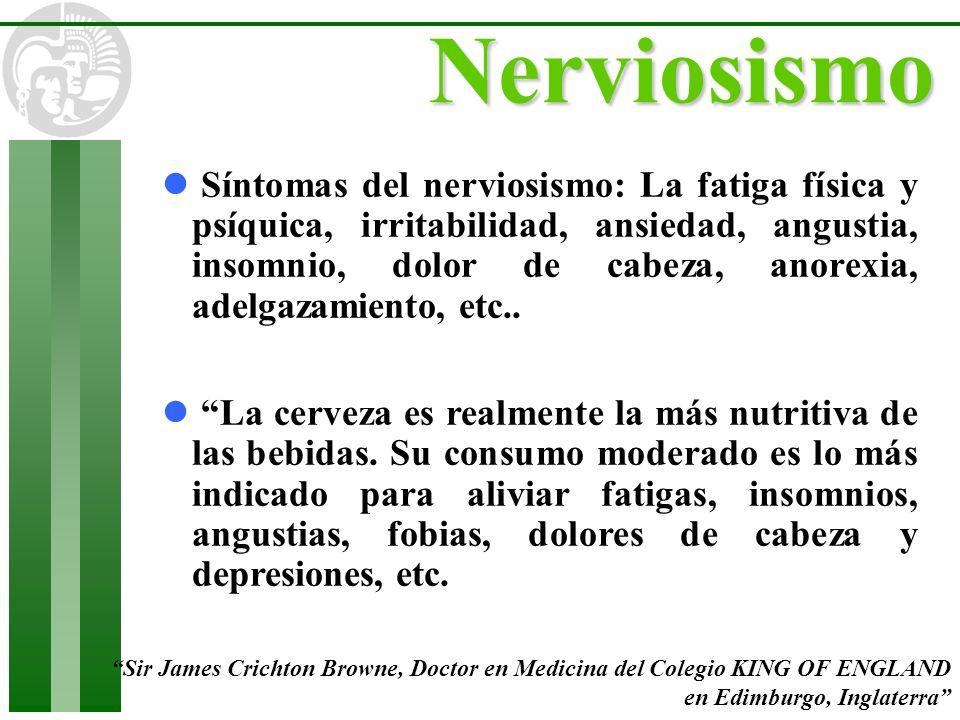Nerviosismo l Síntomas del nerviosismo: La fatiga física y psíquica, irritabilidad, ansiedad, angustia, insomnio, dolor de cabeza, anorexia, adelgazam