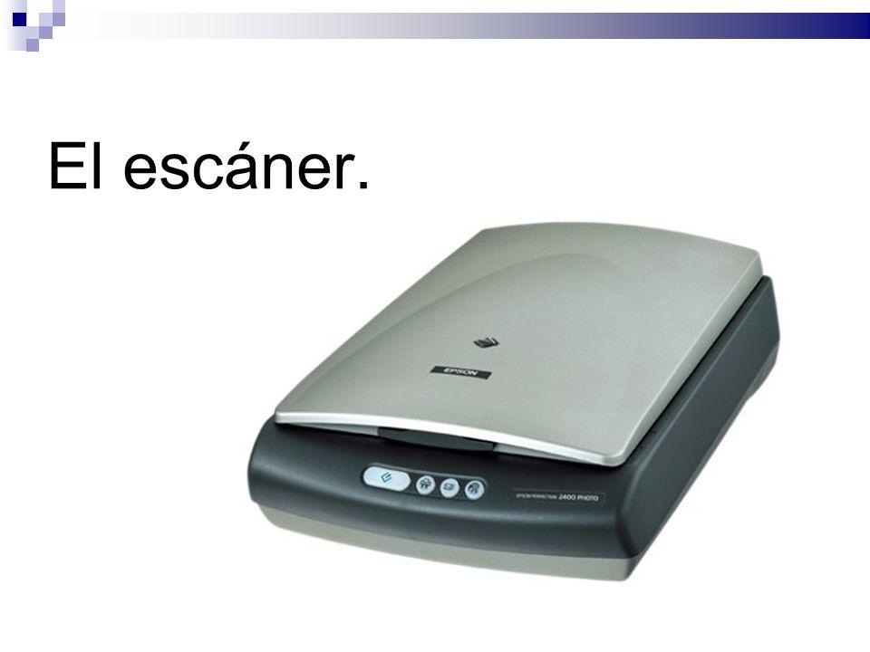 El escáner.