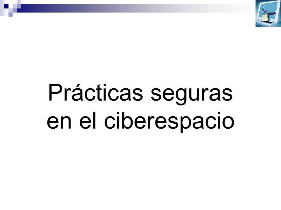 Prácticas seguras en el ciberespacio