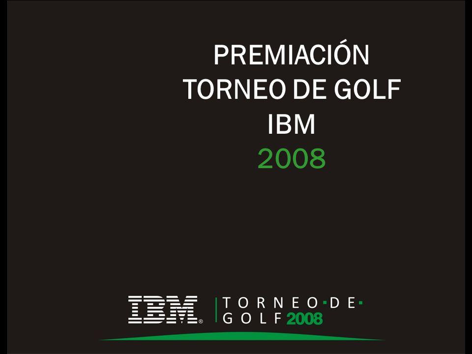 PREMIACIÓN TORNEO DE GOLF IBM 2008