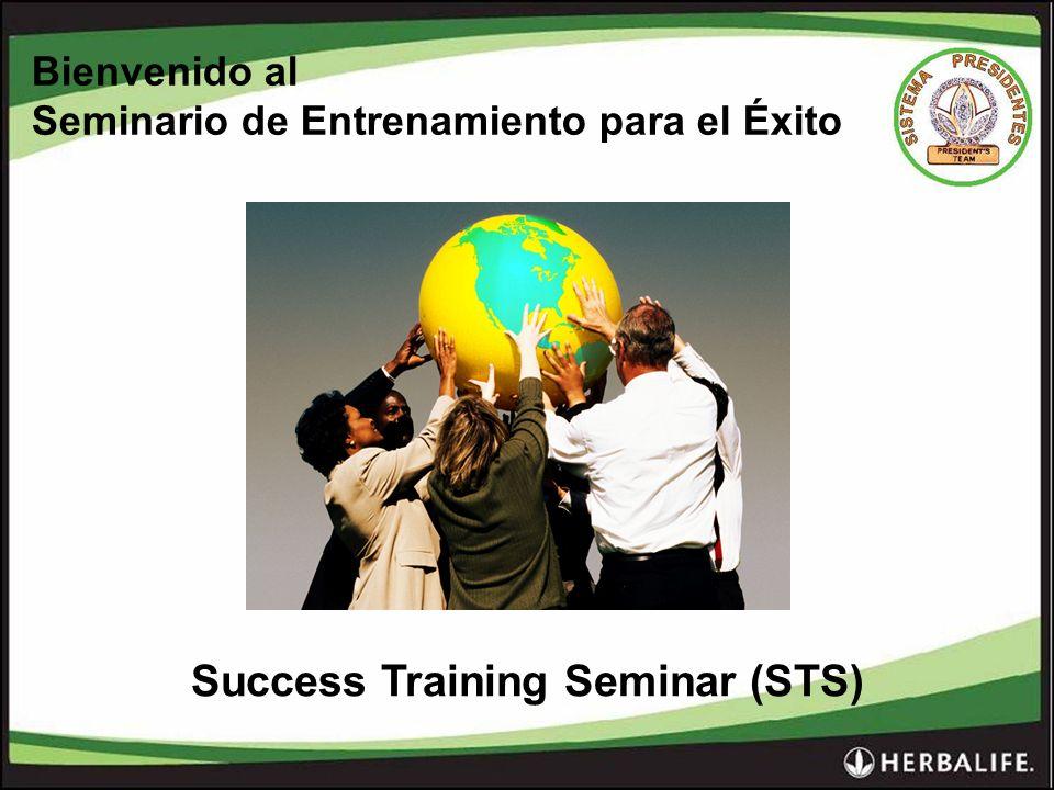 Bienvenido al Seminario de Entrenamiento para el Éxito Success Training Seminar (STS)