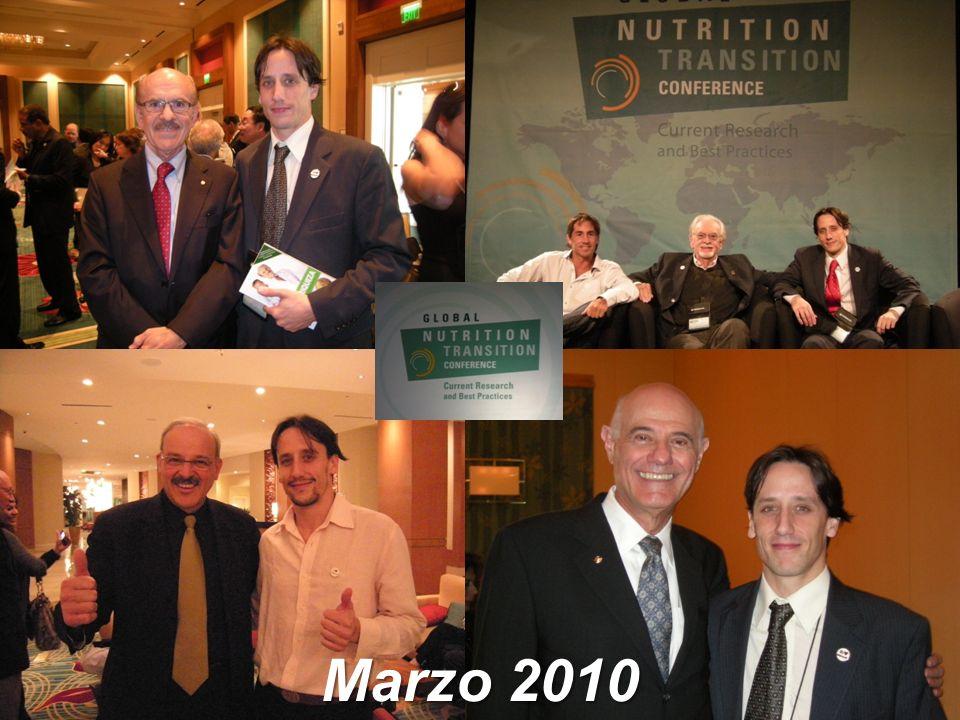 NUTRICION PARA UNA VIDA MEJOR Marzo 2010