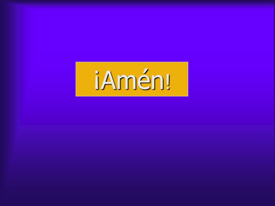 ¡Amén !