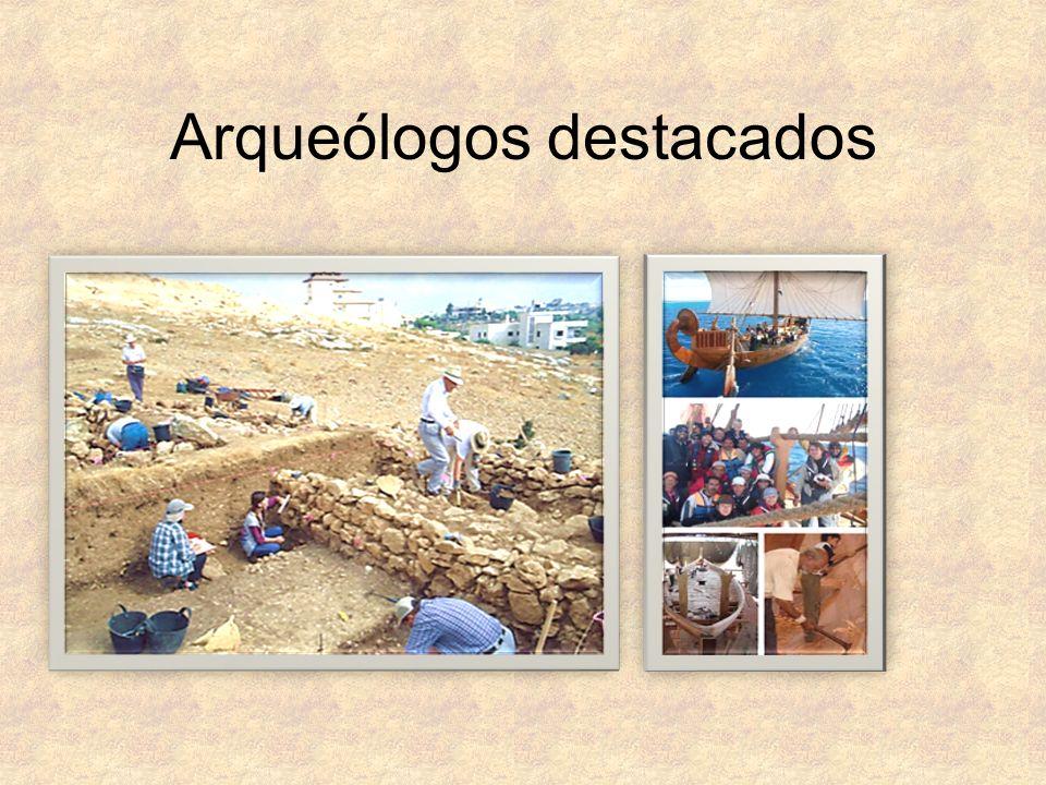 Arqueólogos destacados