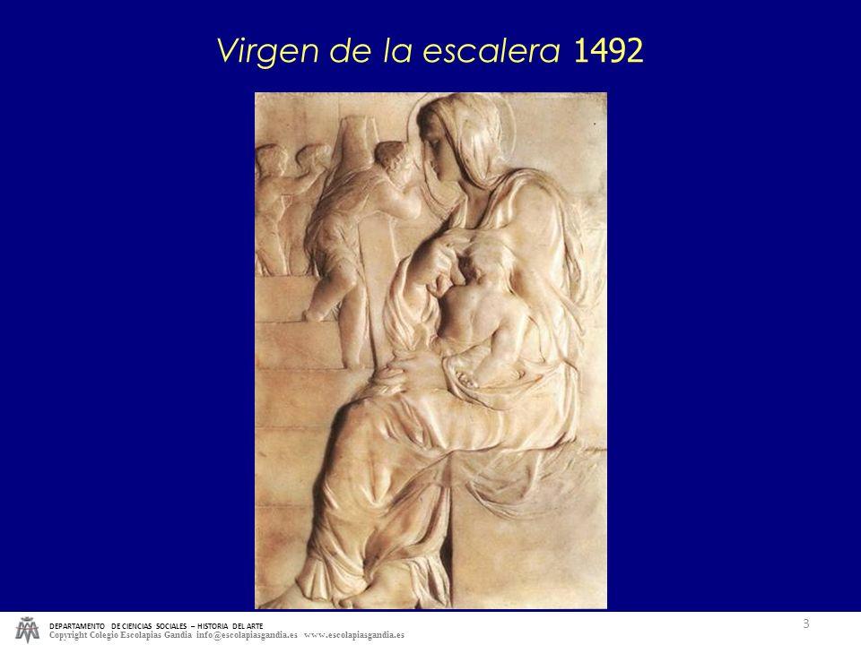 DEPARTAMENTO DE CIENCIAS SOCIALES – HISTORIA DEL ARTE Copyright Colegio Escolapias Gandia info@escolapiasgandia.es www.escolapiasgandia.es 3 Virgen de