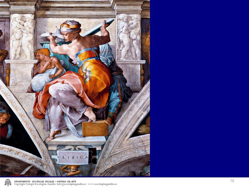 DEPARTAMENTO DE CIENCIAS SOCIALES – HISTORIA DEL ARTE Copyright Colegio Escolapias Gandia info@escolapiasgandia.es www.escolapiasgandia.es 76 MANIER