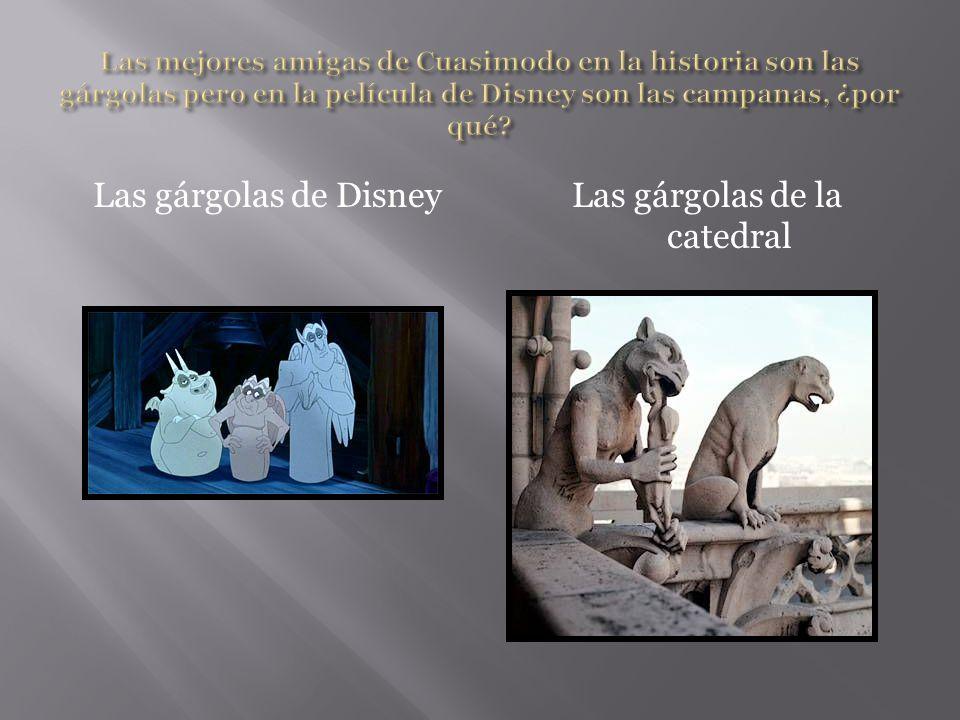 Las gárgolas de DisneyLas gárgolas de la catedral