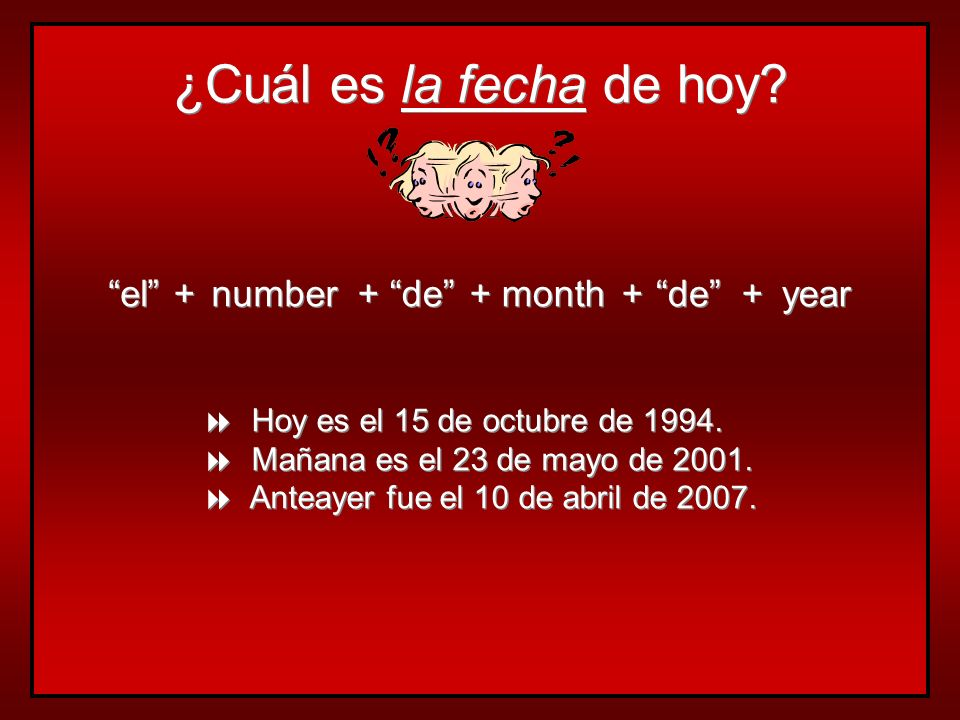 Las estaciones y los meses… seasons and months are not capitalized articles are not used with months articles are used with seasons, except after en l