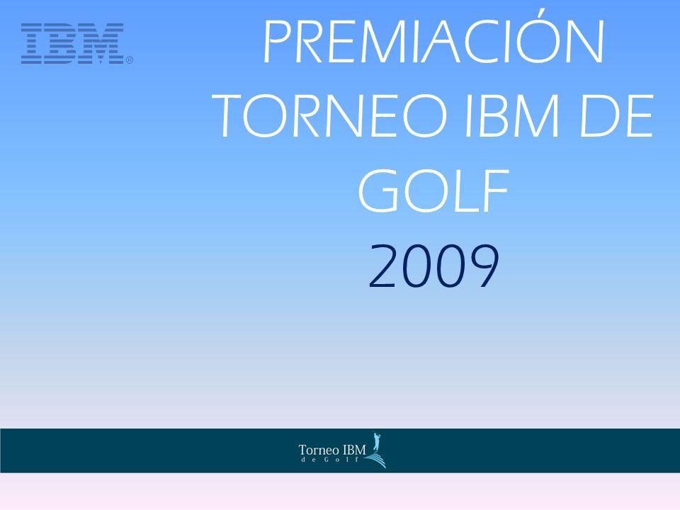 PREMIACIÓN TORNEO IBM DE GOLF 2009