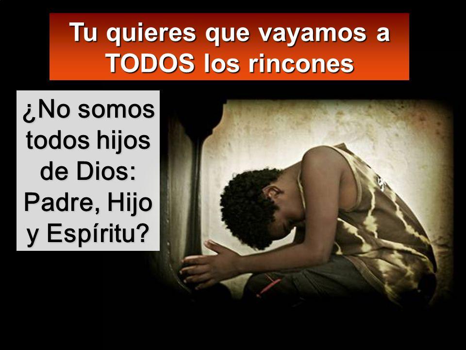 Id y haced discípulos de todos los pueblos, bautizándolos en el nombre del Padre y del Hijo y del Espíritu Santo;