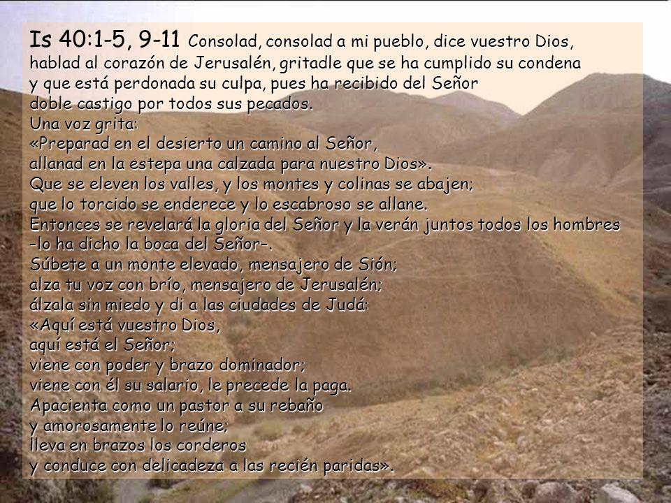 Ciclo B Segundo domingo de Adviento 7 de diciembre de 2008 Música: Lux fulgebit siglo V