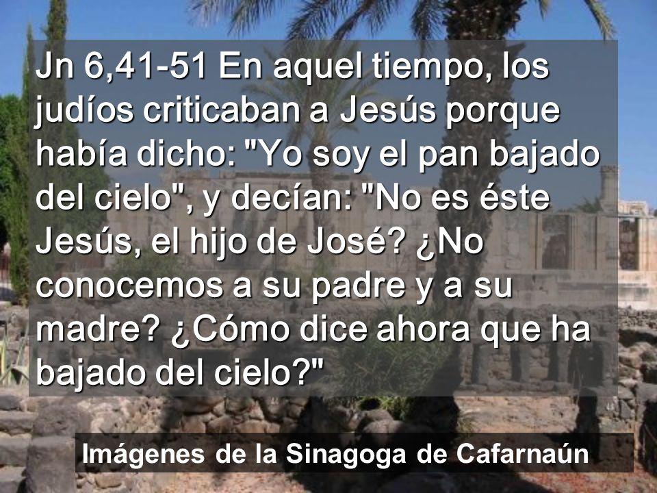 El Pan de Jesús contiene la eternidad en pequeños fragmentos Las piedras negras de basalto son de la época de Jesús