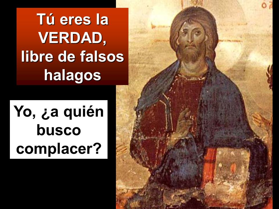Le enviaron unos discípulos, con unos partidarios de Herodes, y le dijeron: