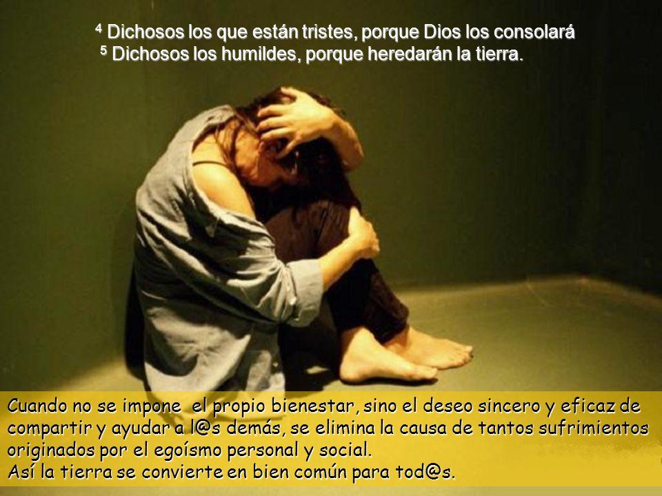 3 Dichosos los pobres en el espíritu, porque suyo es el reino de los cielos.