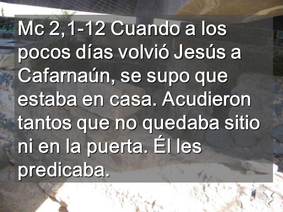 Jesús se dio cuenta de lo que pensaban y les dijo: ¿Por qué pensáis eso.