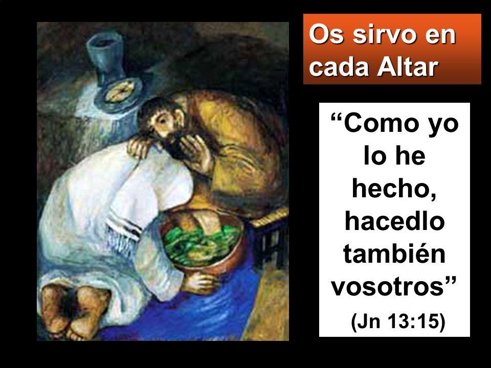 Porque el Hijo del hombre no ha venido para que le sirvan, sino para servir y dar su vida en rescate por todos.
