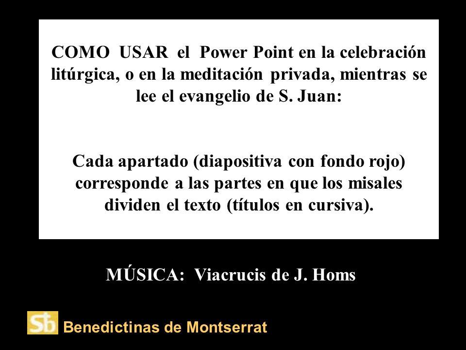 COMO USAR el Power Point en la celebración litúrgica, o en la meditación privada, mientras se lee el evangelio de S.