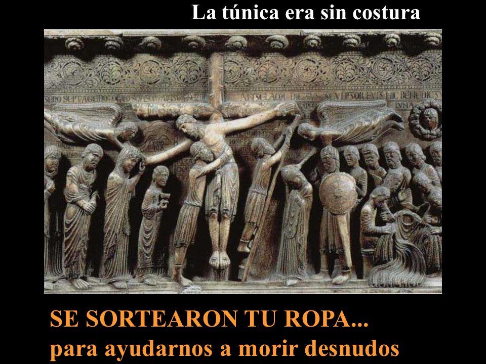 Cuando lo hubieron crucificado... Al pie de Tu Cruz, cada Viernes Santo venimos a presentarte TODOS los Humanos que Tu has Redimido... Todos caben Cal