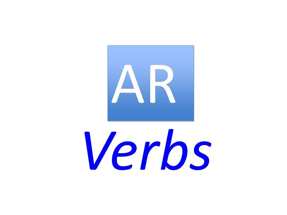 Verbs AR