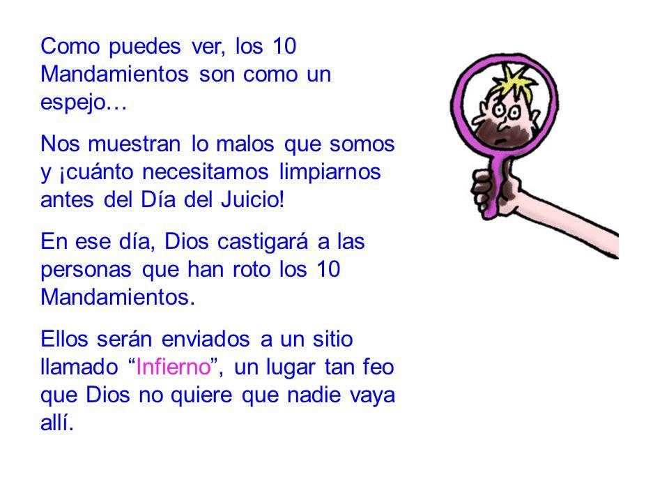 Evangelio 8 Dios no quiere que tú seas castigado.