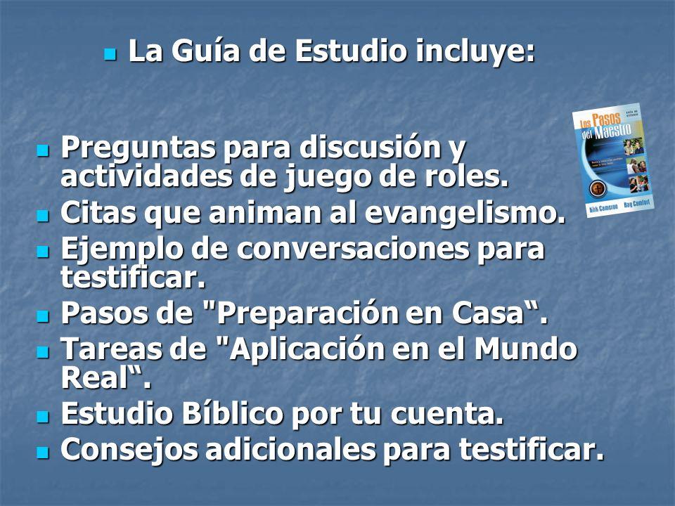 Preguntas para discusión y actividades de juego de roles. Preguntas para discusión y actividades de juego de roles. Citas que animan al evangelismo. C