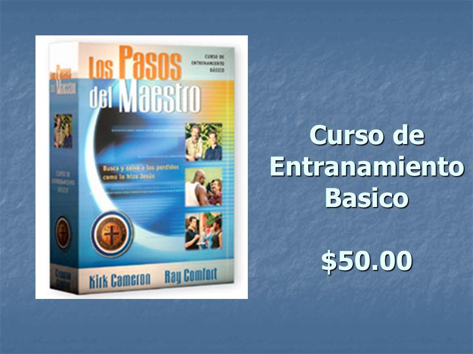 Curso de Entranamiento Basico $50.00