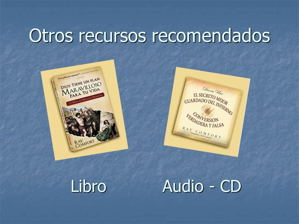 Otros recursos recomendados Libro Audio - CD