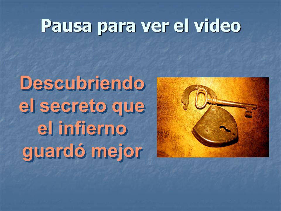Pausa para ver el video Descubriendo el secreto que el infierno guardó mejor Descubriendo el secreto que el infierno guardó mejor