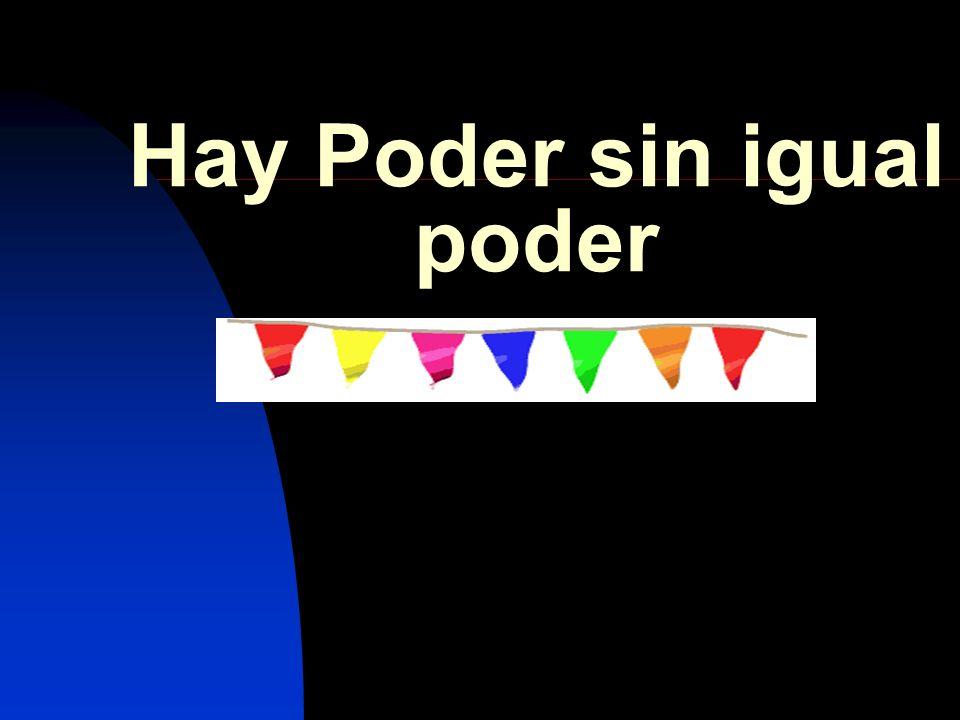 III.¿CUAL ES EL PRECIO DE ESTE PODER.
