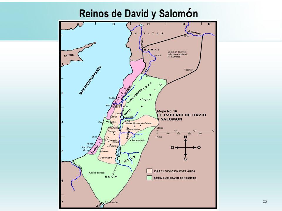 35 Reinos de David y Salom ó n