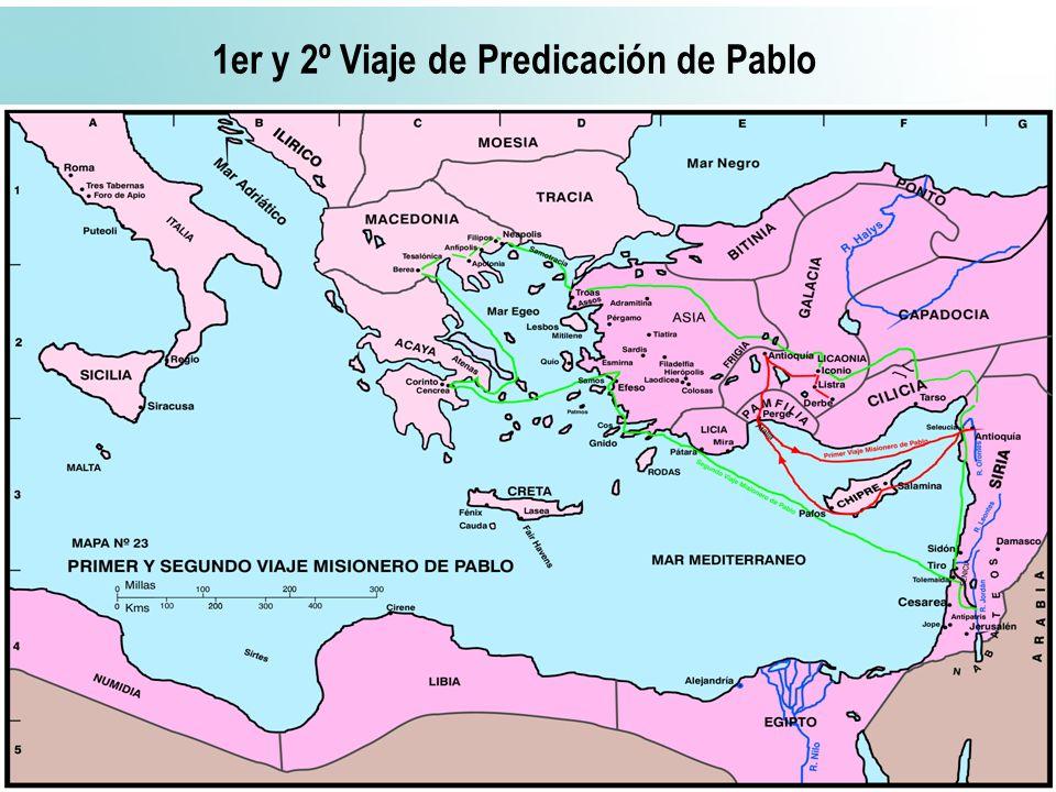 57 1er y 2º Viaje de Predicación de Pablo