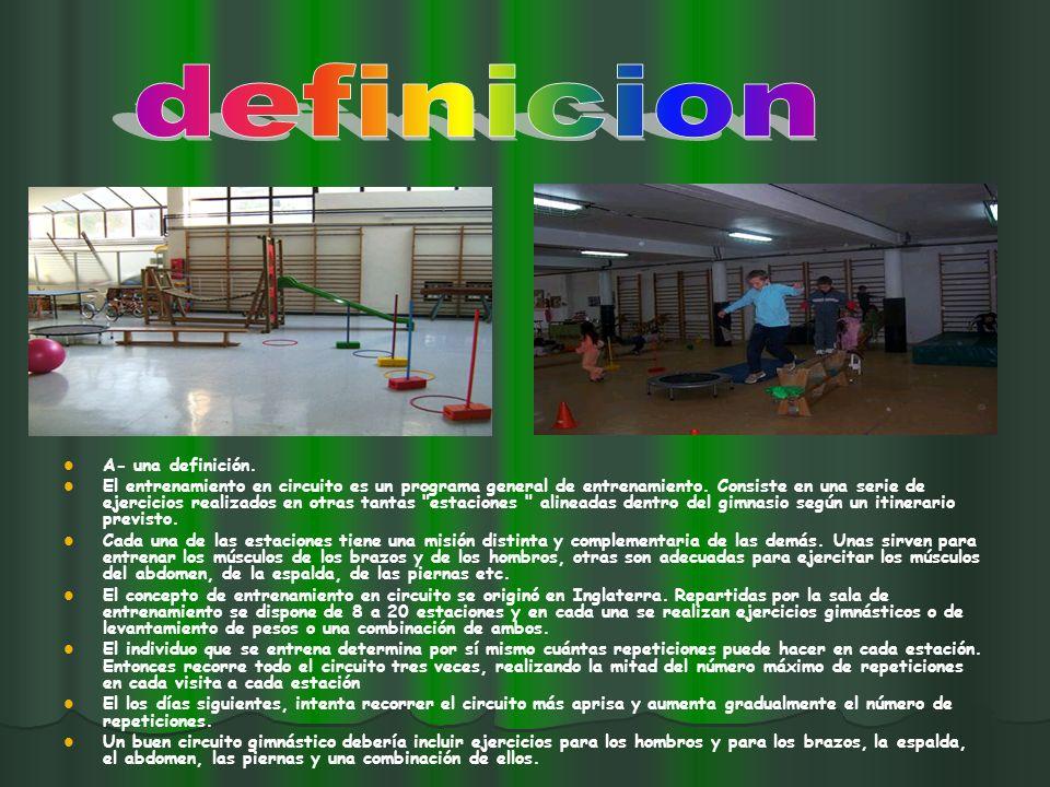 El entrenamiento en circuito y sus variantes son formas efectivas de organización y metodología del entrenamiento de la condición deportiva.