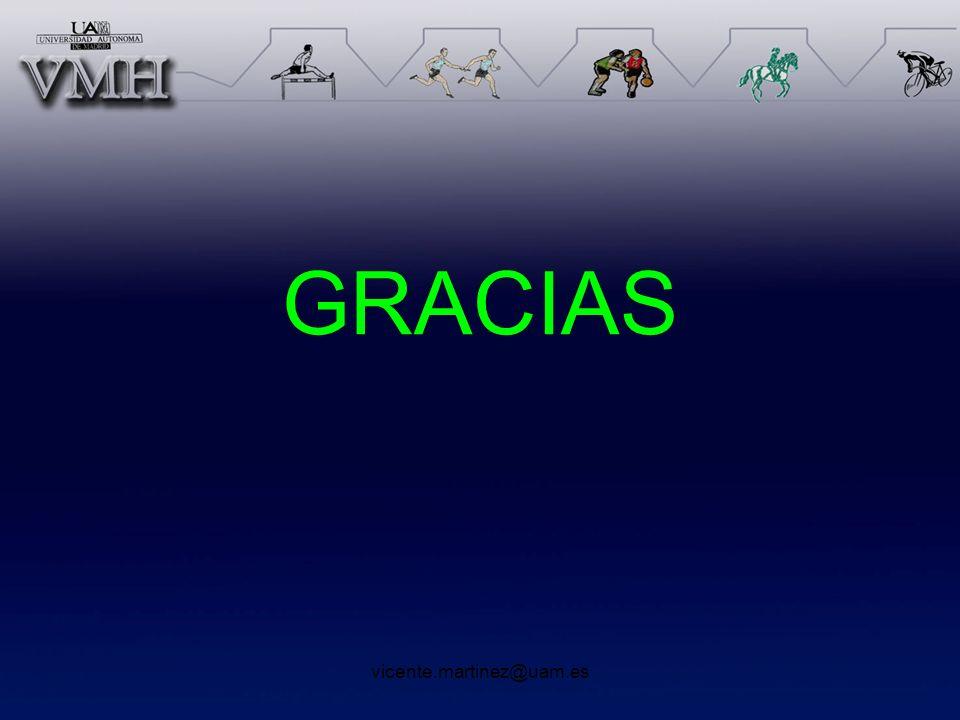 vicente.martinez@uam.es GRACIAS