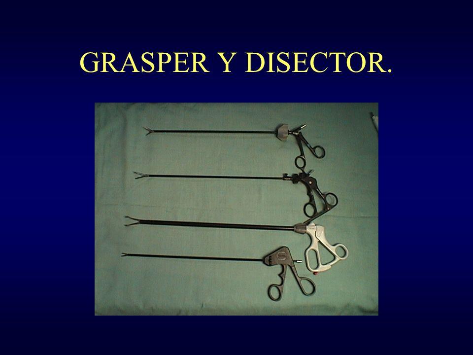 GRASPER Y DISECTOR.