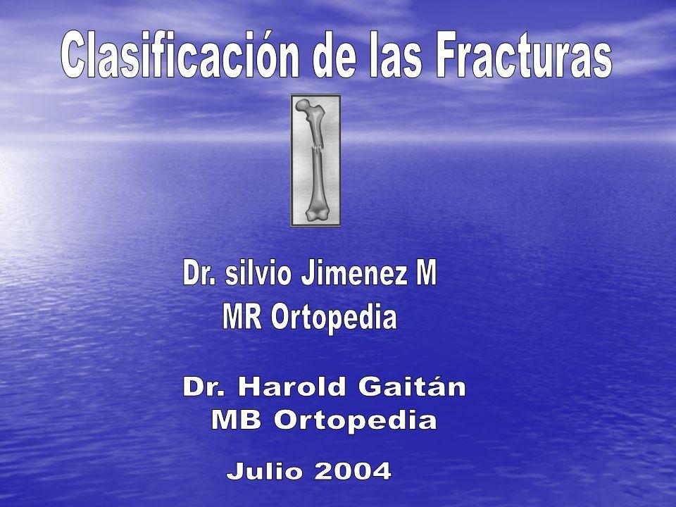 Según Biodinámica Estables: fracturas con poca posibilidad de desplazamiento.