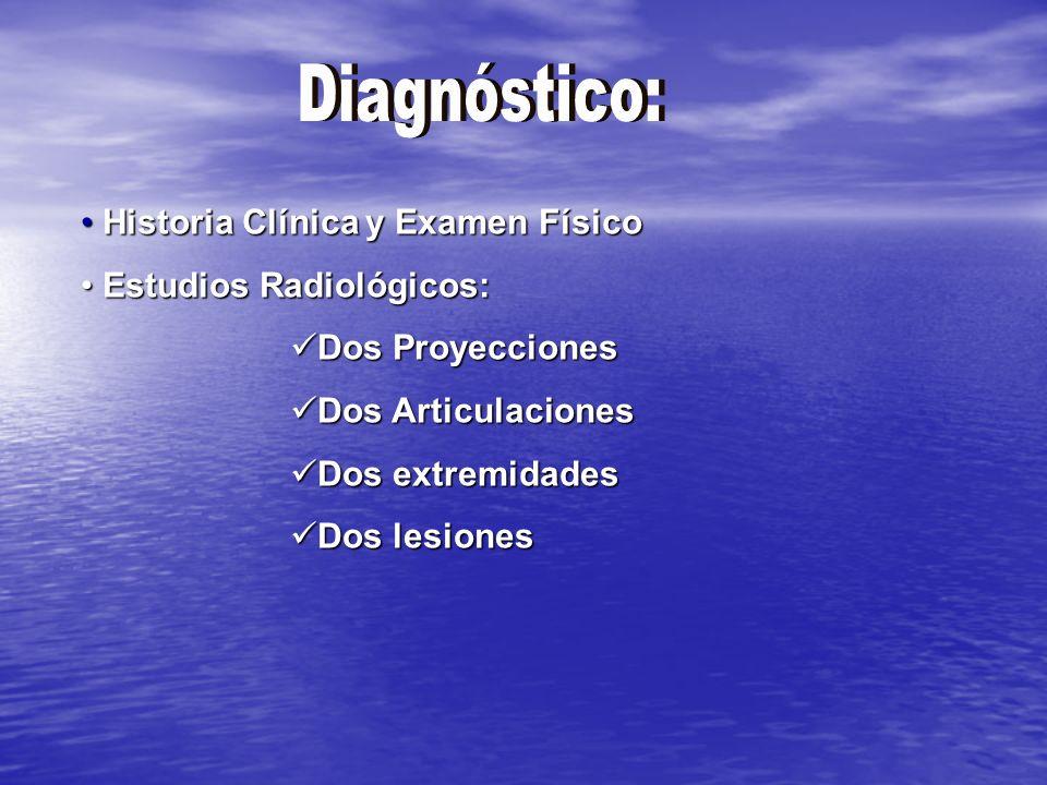 Asociado a Trauma Neurovascular Asociado a Trauma Neurovascular NO importa el daño a tejidos blandos NO importa el daño a tejidos blandos Gustilo III-C