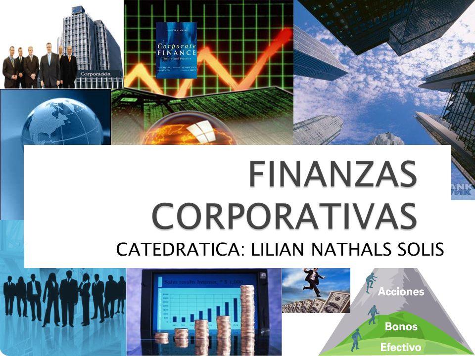 Las Finanzas Corporativas son las encargadas de estudiar todas las acciones tomadas en la empresa que puedan tener un impacto financiero.
