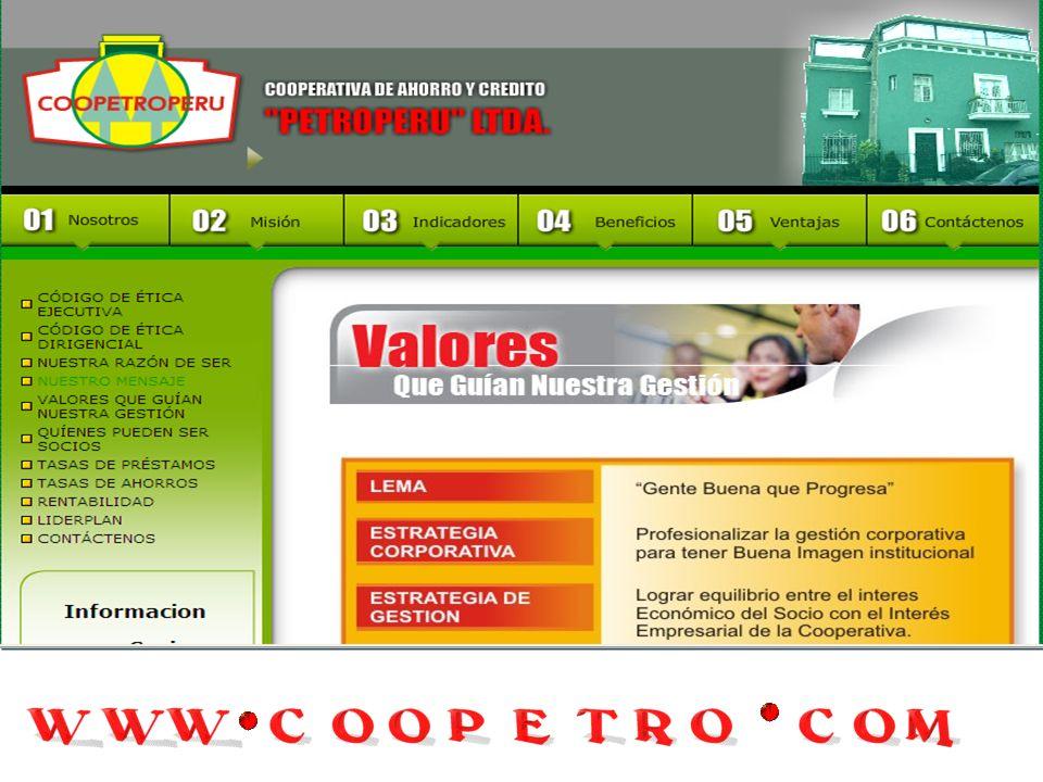 ESTATUTO DE LA COOPERATIVA DE AHORRO Y CREDITO PETROPERU LTDA (CON LAS MODIFICACIONES INTRODUCIDAS EN LA ASAMBLEA GENERAL EXTRAORDINARIA DEL 11.11.200