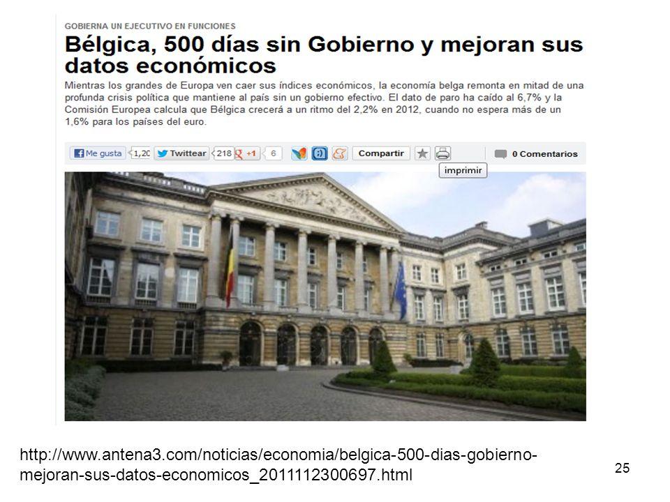 25 http://www.antena3.com/noticias/economia/belgica-500-dias-gobierno- mejoran-sus-datos-economicos_2011112300697.html