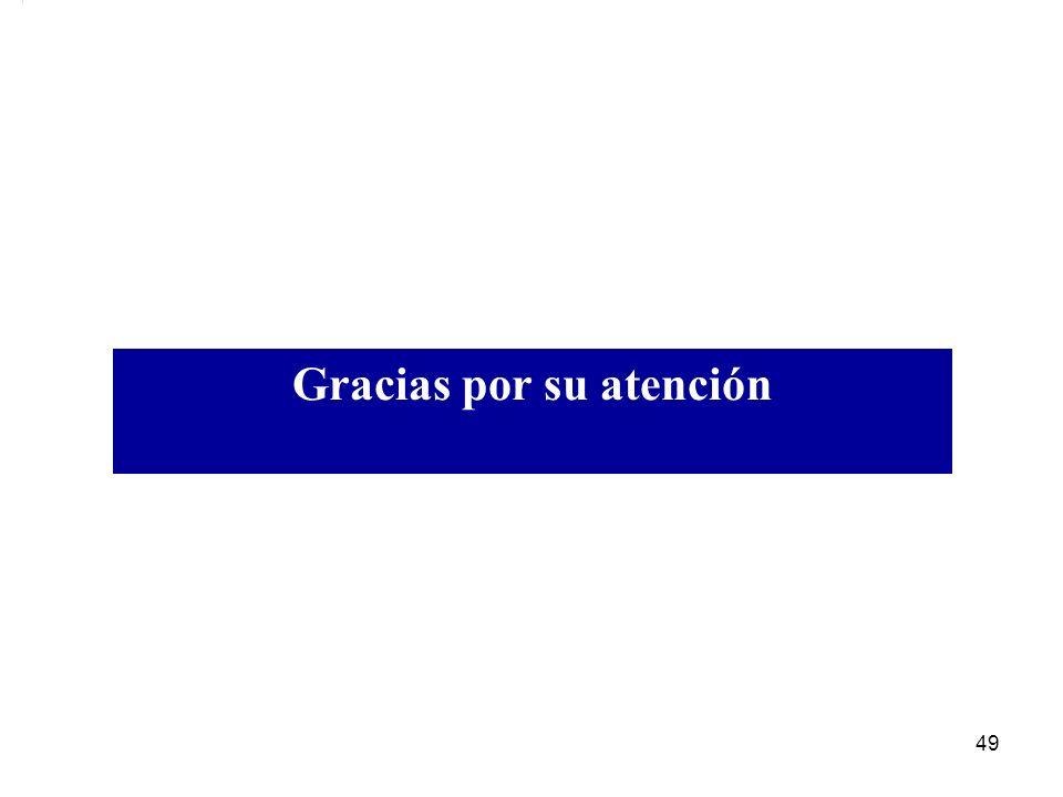 Gracias por su atención 49