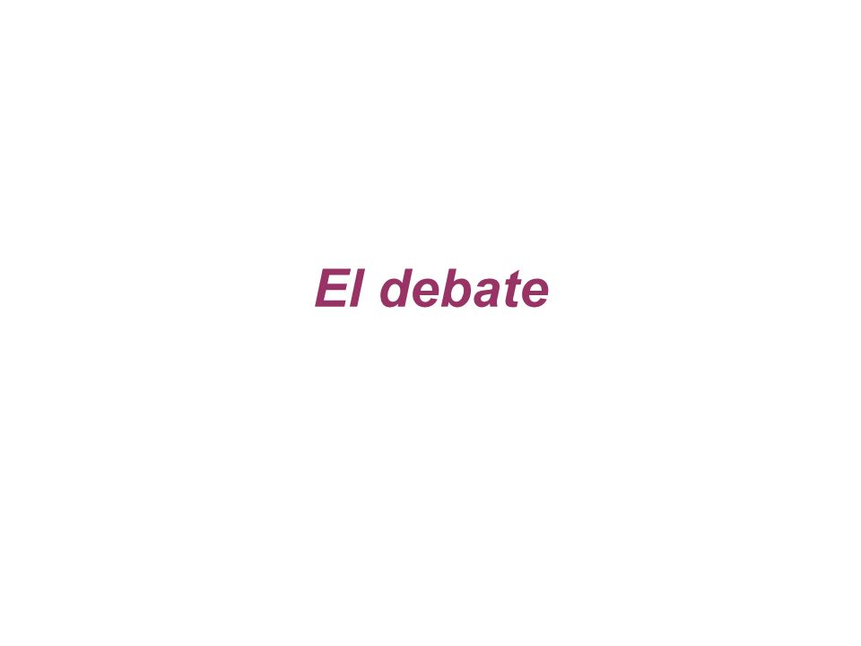 Tanto la argumentación como el debate son actividades reflexivas para llegar a la búsqueda cooperativa de la verdad.