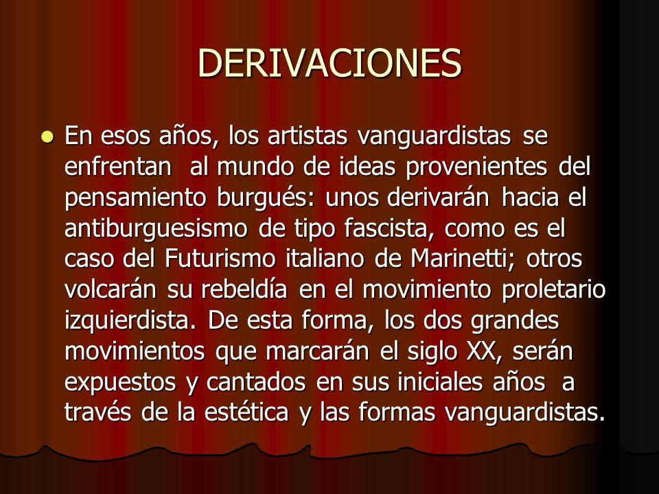 WEBOGRAFÍA Las vanguardias literarias.