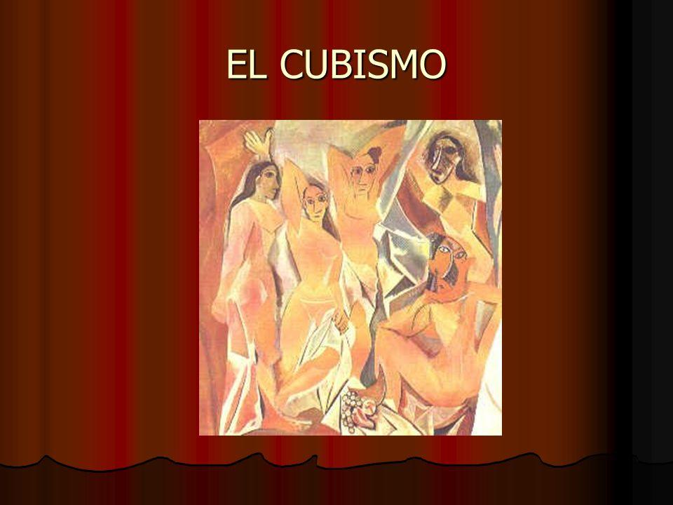 PABLO PICASSO Las señoritas de Avignon, el cuadro que materializa el cubismo es producido por Picasso el año en que muere Cézanne(1906).
