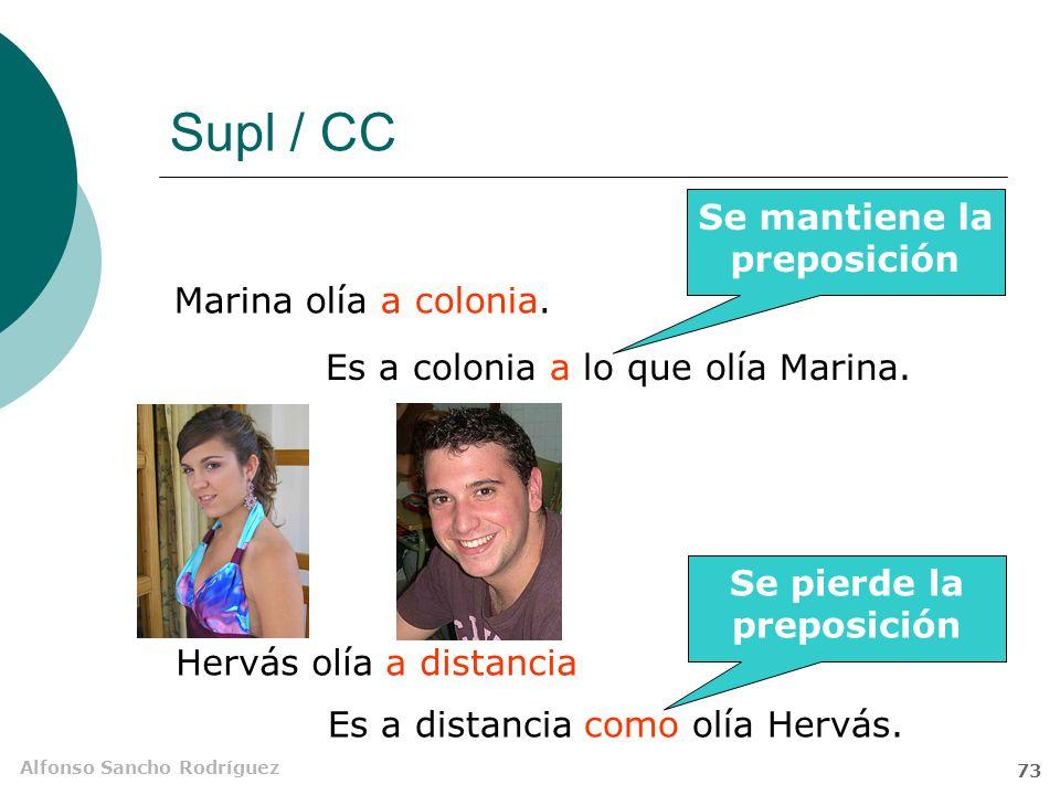 Alfonso Sancho Rodríguez 72 Supl / CC Hablaban de música. Hablaban de memoria Es de música de lo que hablaban. Es de memoria como hablaban. Se mantien